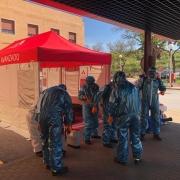 DESINFECCIÓN del HOSPITAL | Protección Civil Bormujos SEVILLA