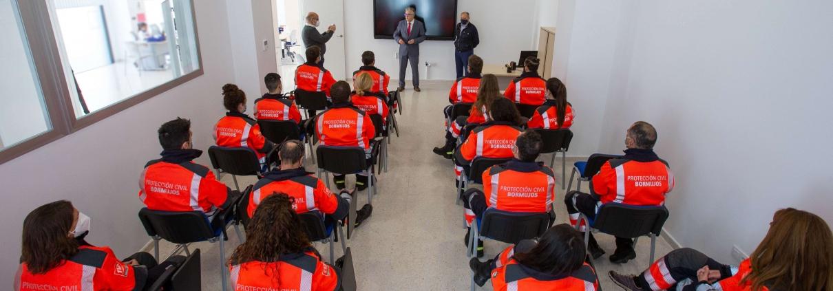 FORMACION Protección Civil Bormujos SEVILLA